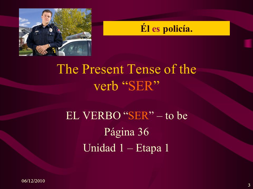 06/12/2010 2 Describing People To discuss people in Spanish, you will use subject pronouns.