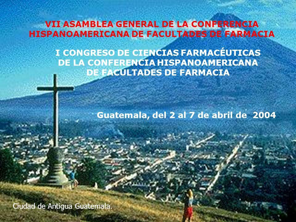 I CONGRESO DE CIENCIAS FARMACÉUTICAS COHIFFA13 3.