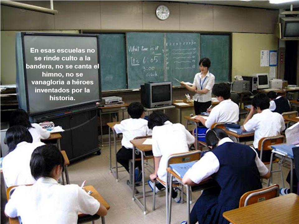 Es un cambio conceptual que rompe paradigmas. Es tan revolucionario que forma a los niños como Ciudadanos del mundo no como japoneses.