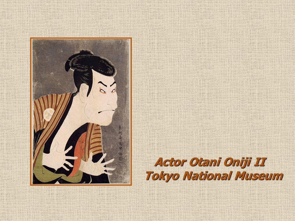 Actor Otani Oniji II Tokyo National Museum