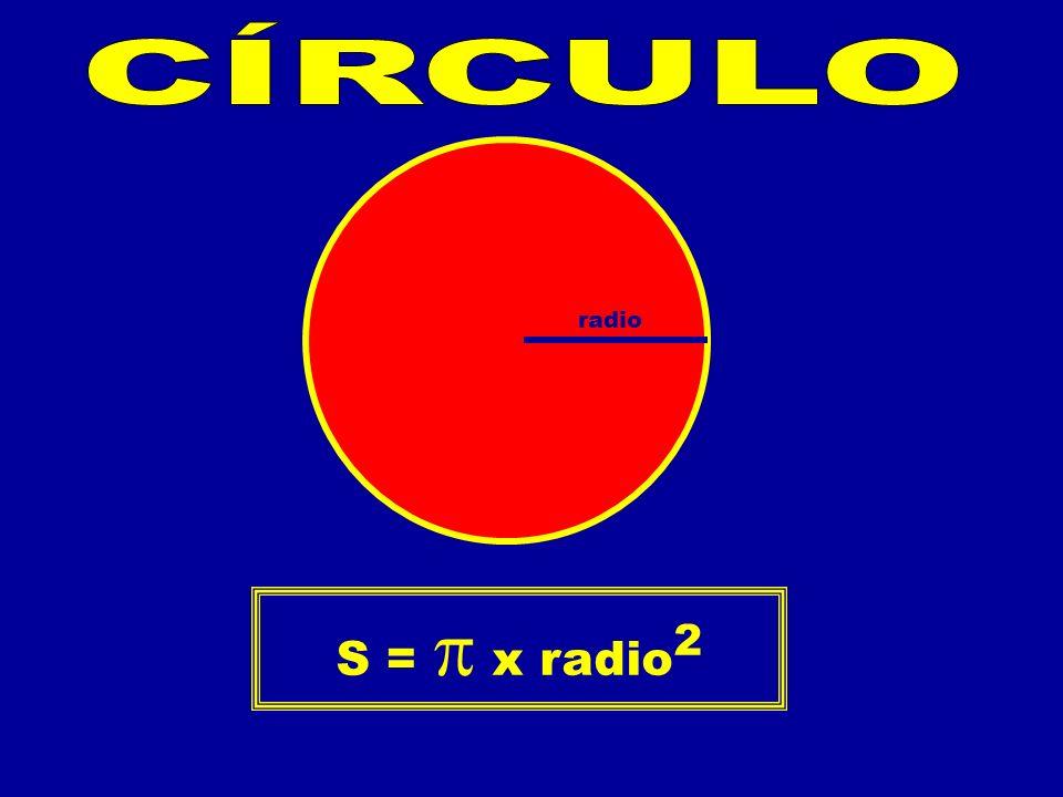 radio S = x radio 2