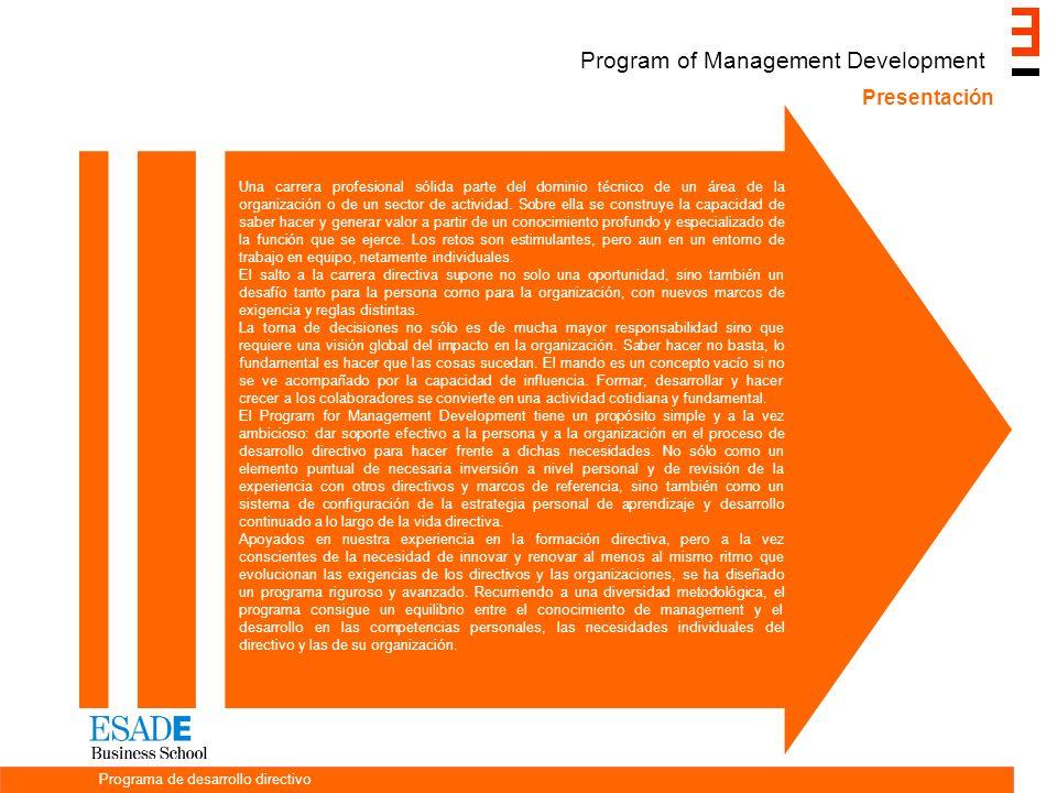 Una carrera profesional sólida parte del dominio técnico de un área de la organización o de un sector de actividad.