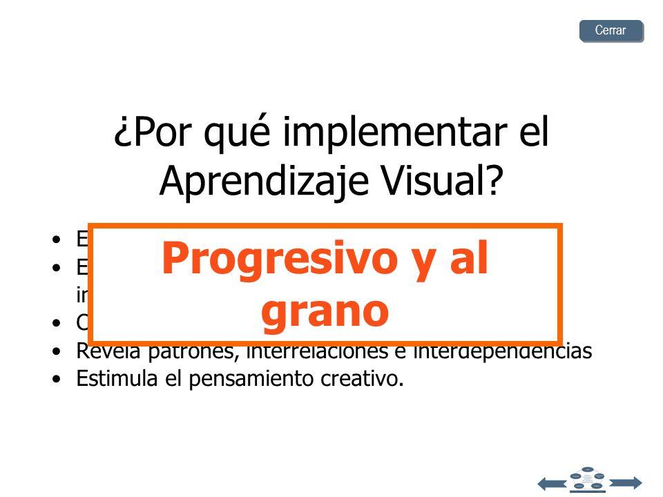 ¿Por qué Implementar el Aprendizaje Visual? Varias investigaciones sugieren que el aprendizaje visual es uno de los mejores métodos para enseñar a pen
