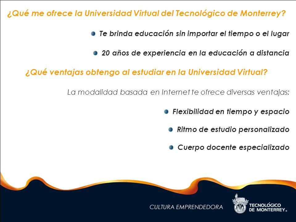 ¿Estudiar en la Universidad Virtual significa estar solo.