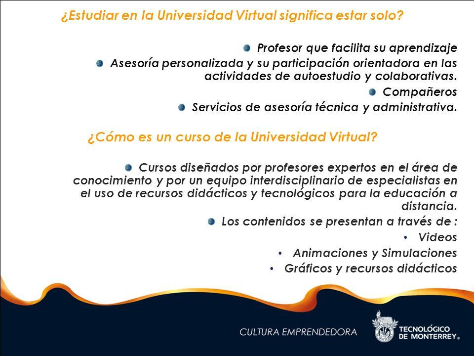 ¿Cómo aprendo en la Universidad Virtual.