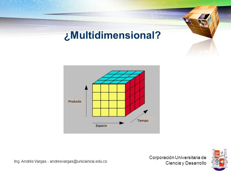 ¿Multidimensional.Corporación Universitaria de Ciencia y Desarrollo Ing.