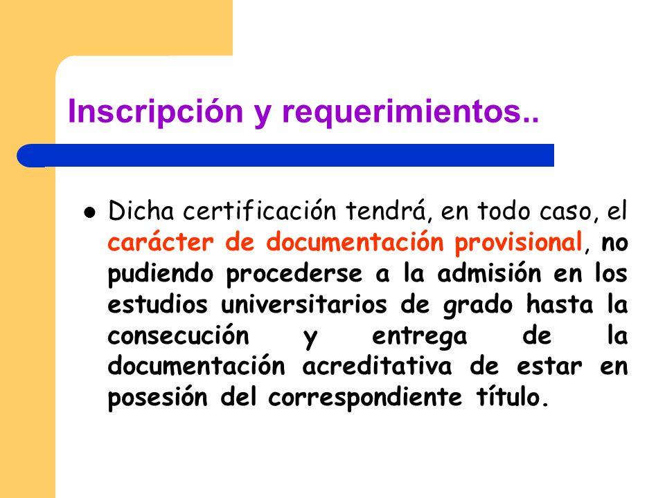 Pruebas de Acceso a las enseñanzas universitarias FECHAS DE REALIZACIÓN CURSO 2010/11.