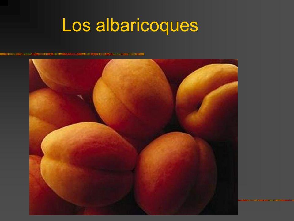 Los albaricoques