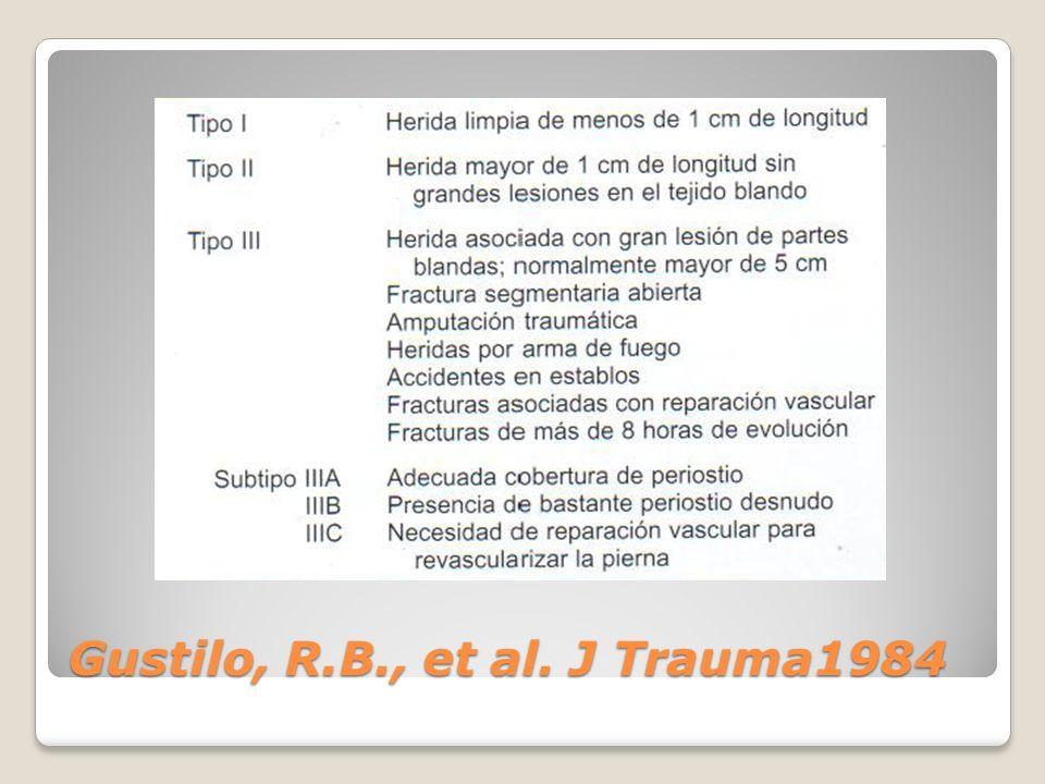 Gustilo, R.B., et al. J Trauma1984