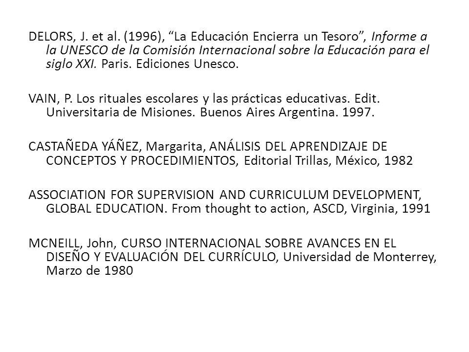DELORS, J.et al.
