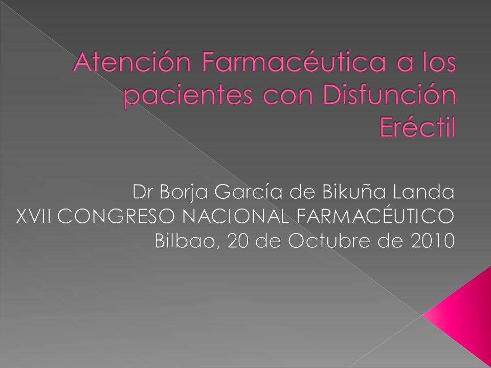 1.Recomendaciones de la 1ª Consulta internacional sobre disfunción eréctil.