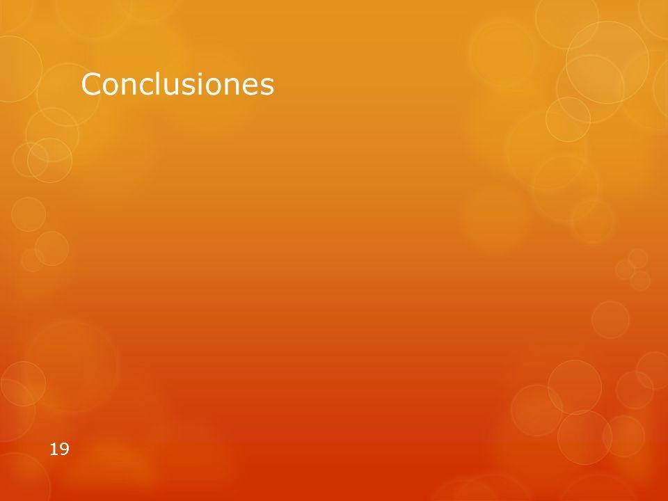 Conclusiones 19