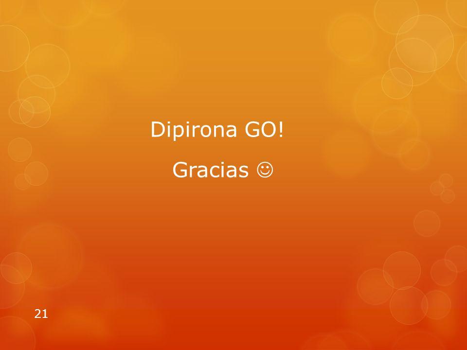 Gracias 21 Dipirona GO!