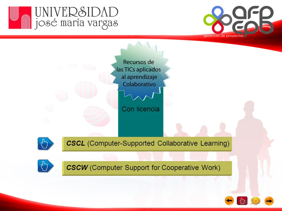 CSCW (Computer Support for Cooperative Work) CSCL (Computer-Supported Collaborative Learning) Con licencia