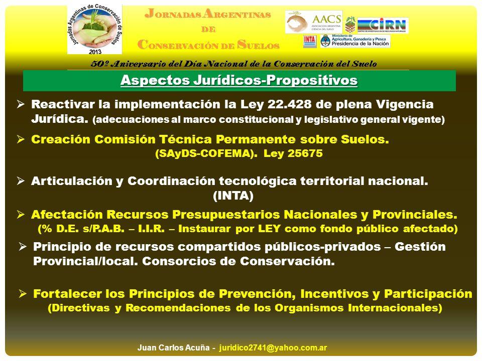 Aspectos Jurídicos-Propositivos Afectación Recursos Presupuestarios Nacionales y Provinciales. (% D.E. s/P.A.B. – I.I.R. – Instaurar por LEY como fond