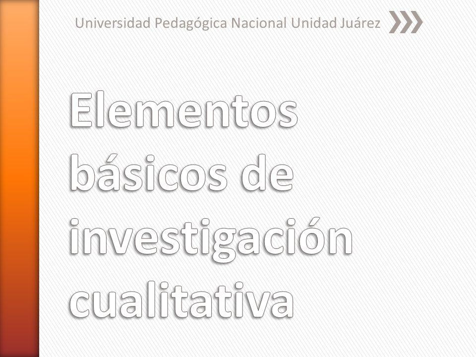 » Enfoques o marcos teóricos o interpretativos de la investigación cualitativa de J.