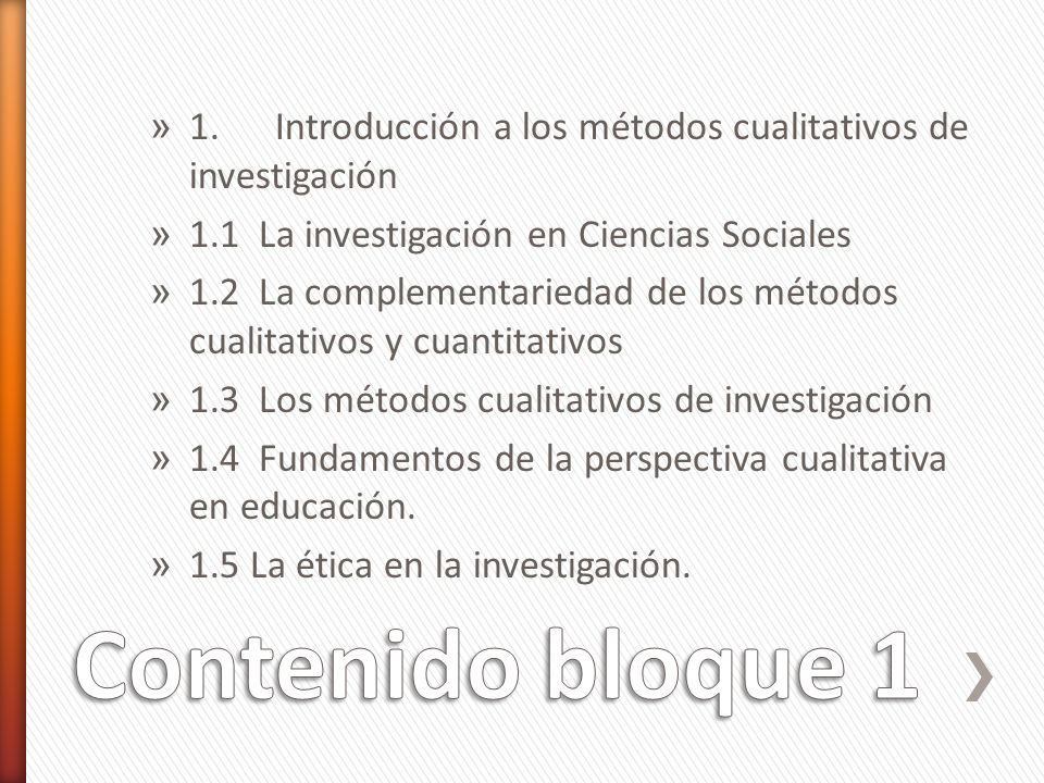 » 1. Introducción a los métodos cualitativos de investigación » 1.1 La investigación en Ciencias Sociales » 1.2 La complementariedad de los métodos cu
