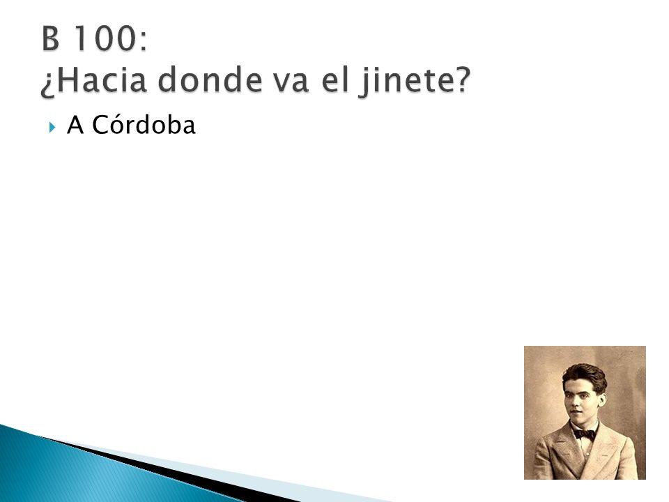 A Córdoba