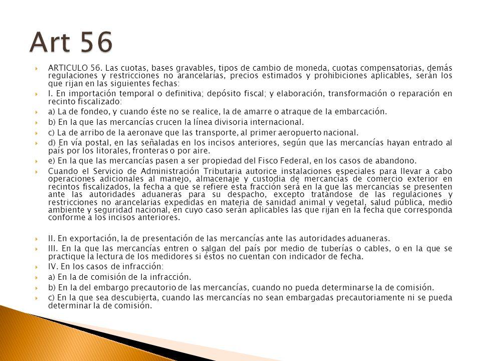 ARTICULO 56.