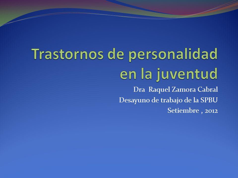 Dra Raquel Zamora Cabral Desayuno de trabajo de la SPBU Setiembre, 2012