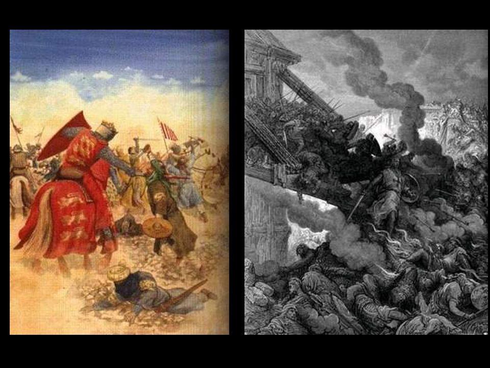 En 1099, los cruzados conquistaron Jerusalén. Dentro de este marco, la Orden evolucionó y desde un principio, junto a su actividad hospitalaria, desar