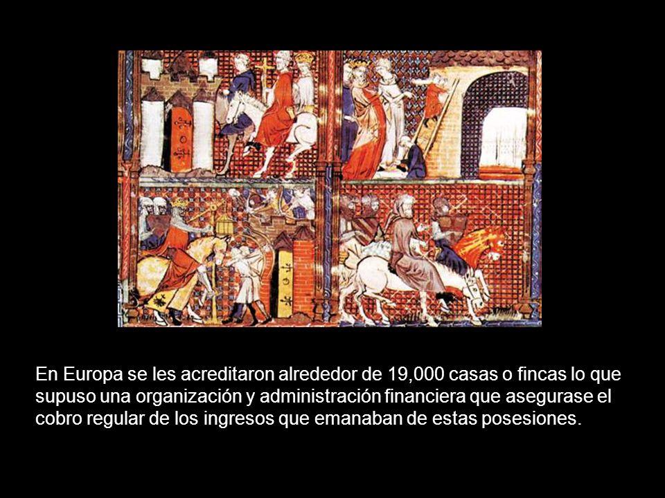 La Orden es coetánea de los Templarios y entronca en íntima relación con el Reino Latino de Jerusalén. Con él compartieron prosperidad y adversidad. E