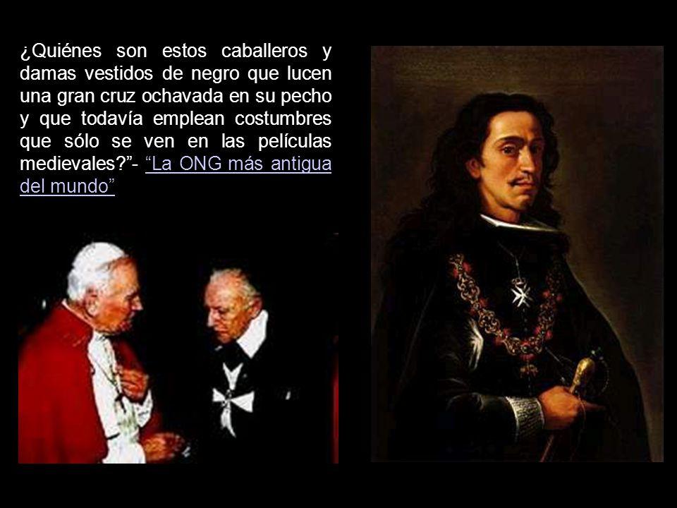 Hoy pocas personas conocen de cerca a esta ONG entre cuyos miembros se cuenta el rey Juan Carlos I y muchos representantes de la nobleza española como