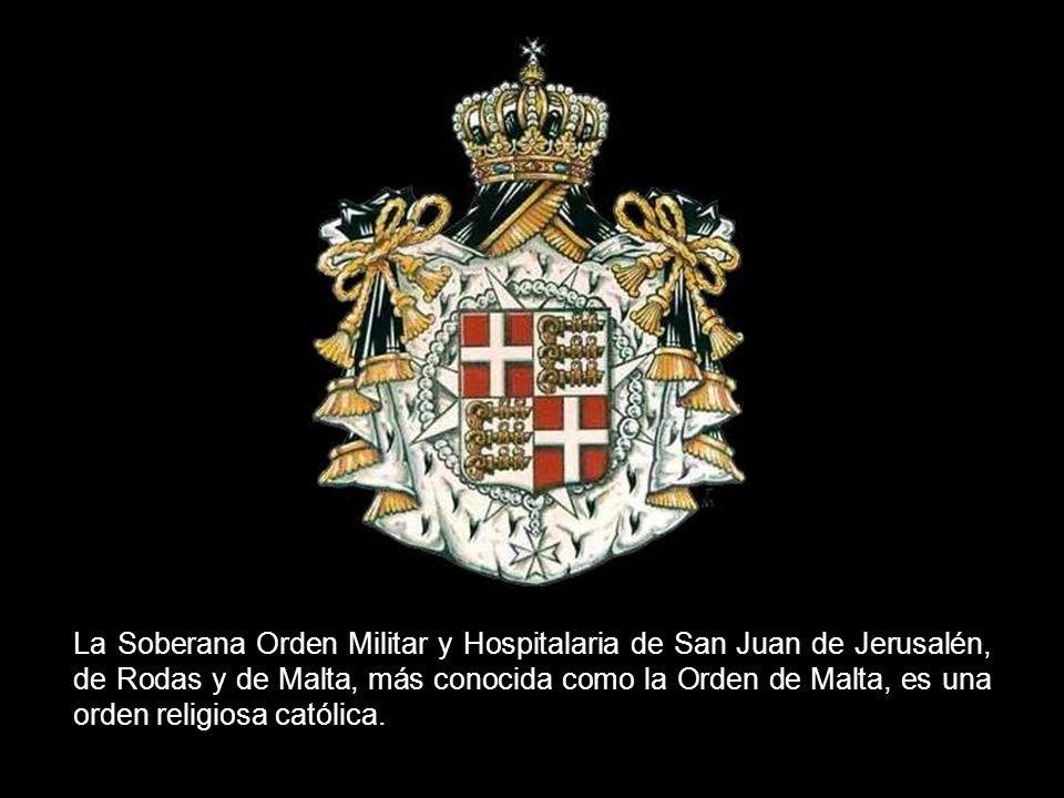 SOBERANA ORDEN MILITAR DE MALTA I
