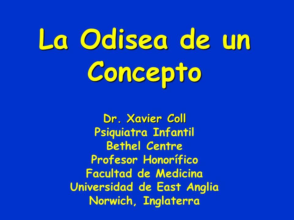 La Odisea de un Concepto Dr.
