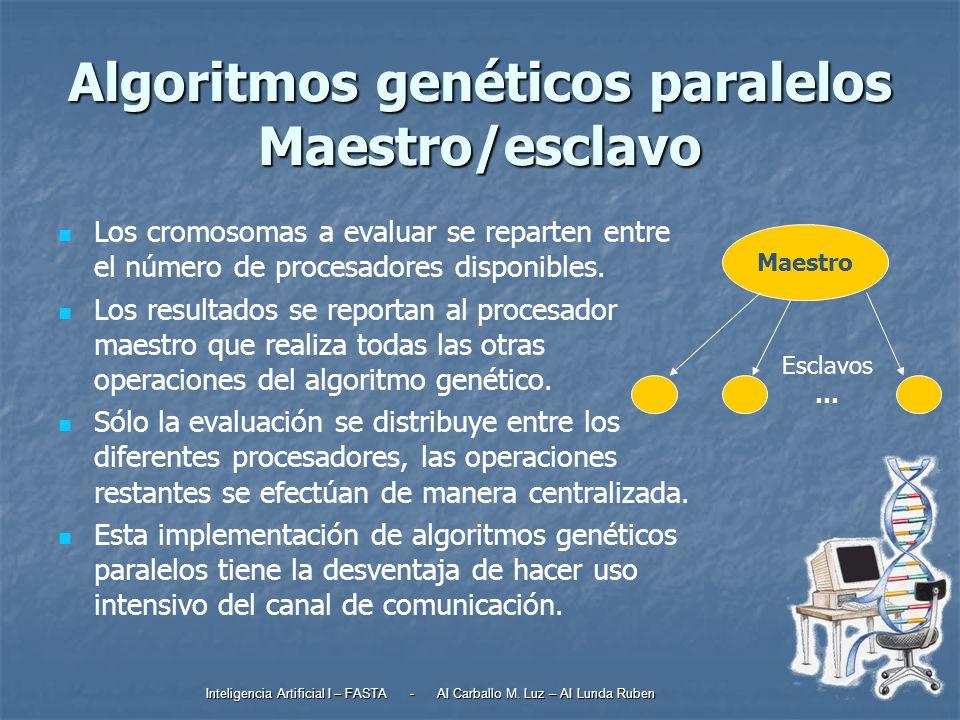 Inteligencia Artificial I – FASTA - AI Carballo M.