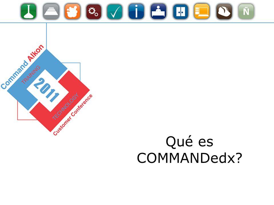Qué es COMMANDedx?