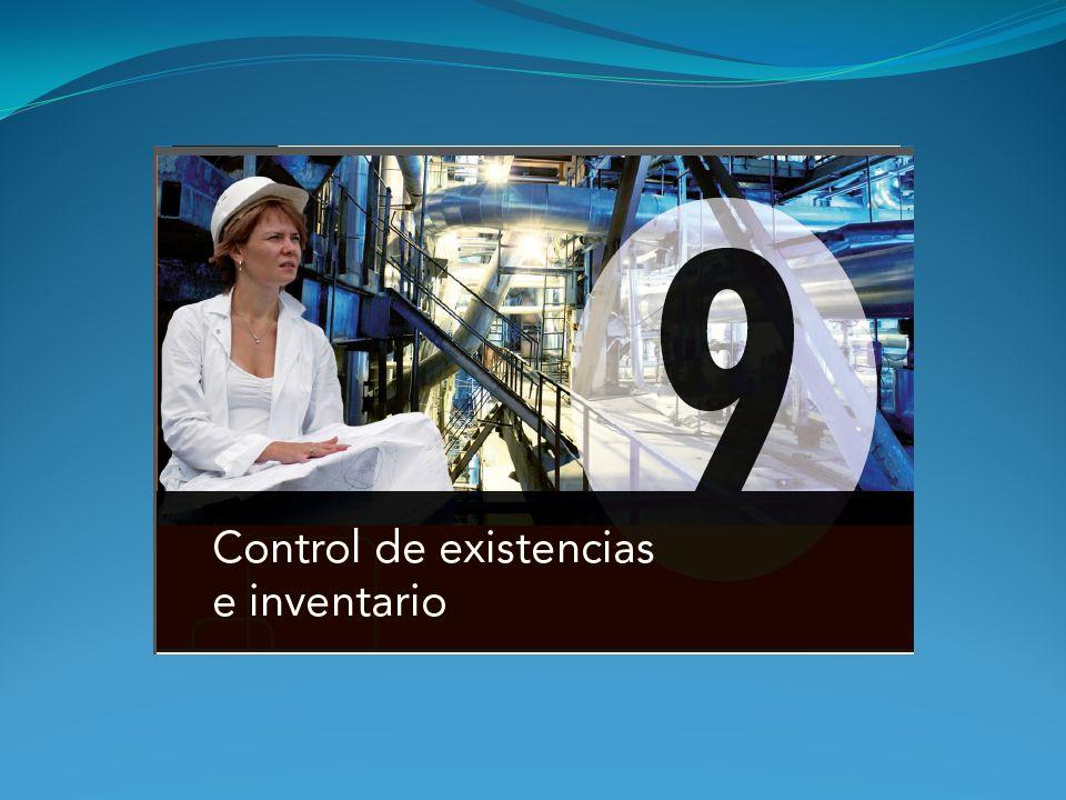 Control por cupones El control por cupones se utiliza cuando se desea también controlar la composición del stock, en función de las características de los artículos que componen la familia.