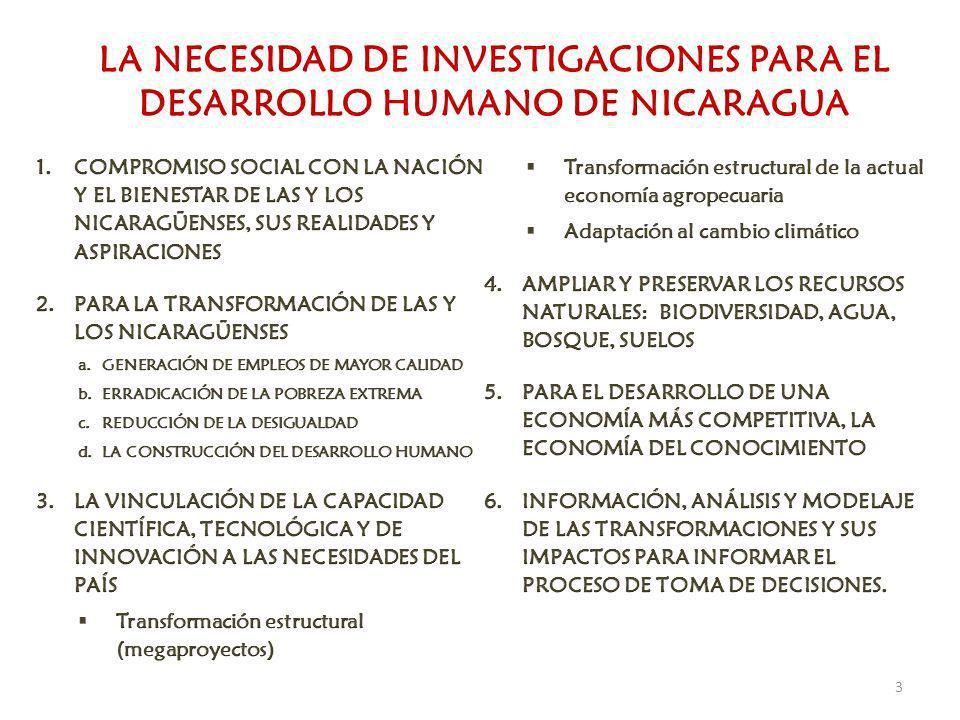 COMITÉ PRESIDENCIAL PARA INVESTIGACIÓN CONICYT CNU ACADEMIA DE LA CIENCIA MARENA SPPN 4