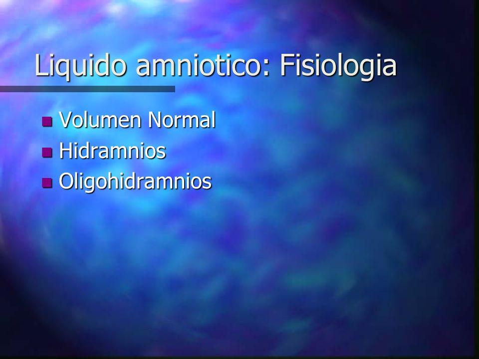 n Examen espectrofotometrico del liquido amniotico.
