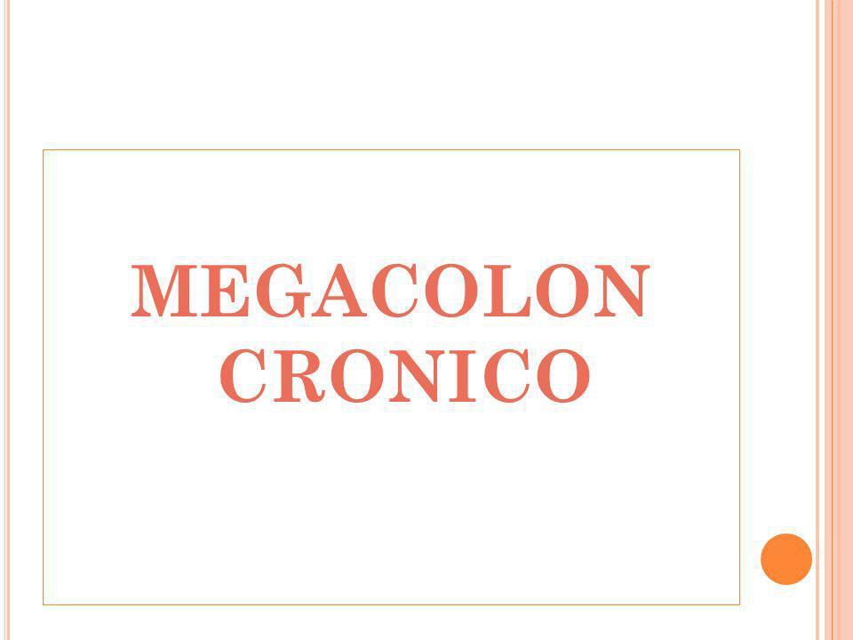 MEGACOLON CRONICO