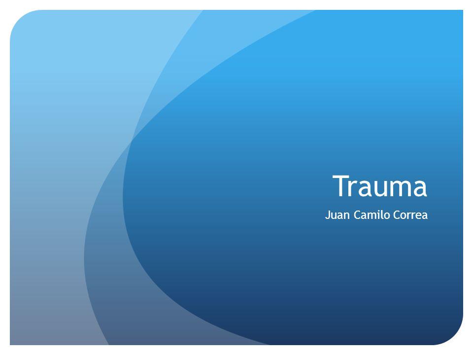 Trauma Juan Camilo Correa