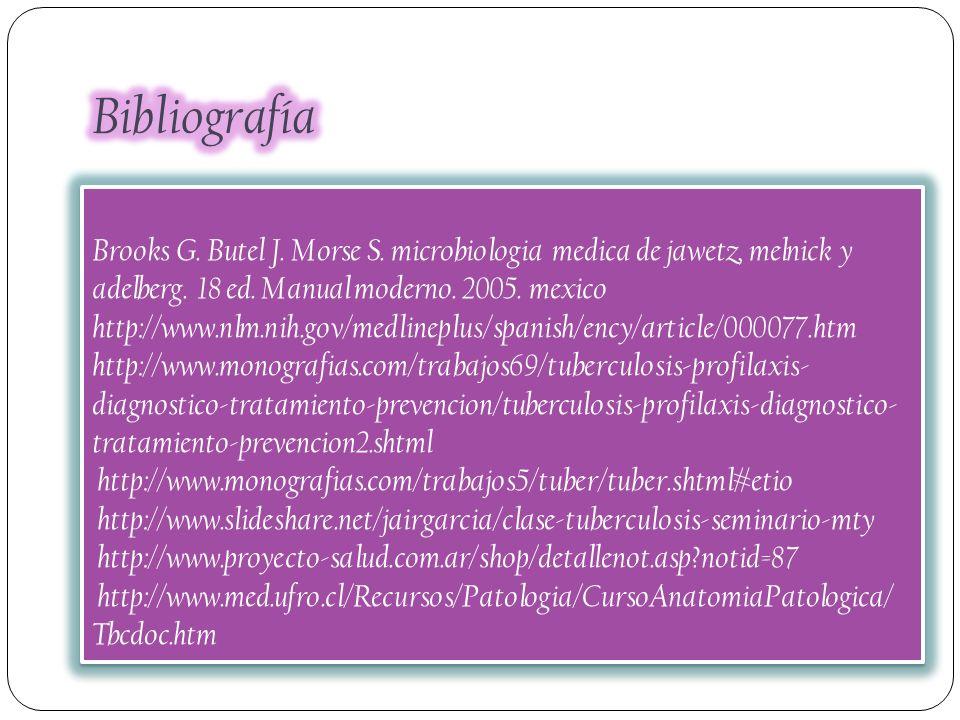 Brooks G. Butel J. Morse S. microbiologia medica de jawetz, melnick y adelberg. 18 ed. Manual moderno. 2005. mexico http://www.nlm.nih.gov/medlineplus