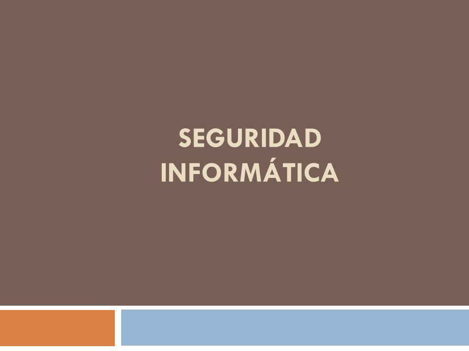 Seguridad Informática Dependiendo del tipo de información y del público para el cual se desea colocar a disposición los grados de sigilo podrán ser: Confidencial Secreto Restrictivo Sigiloso Público
