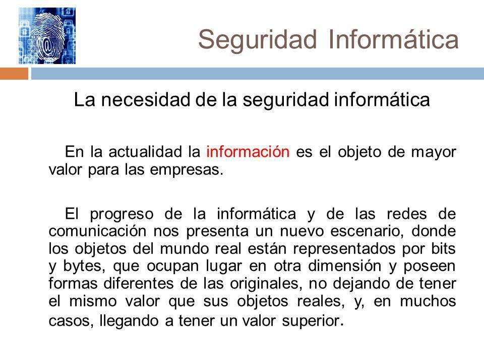 Seguridad Informática Confidencialidad Consiste en proteger la información contra la lectura no autorizada explícitamente.