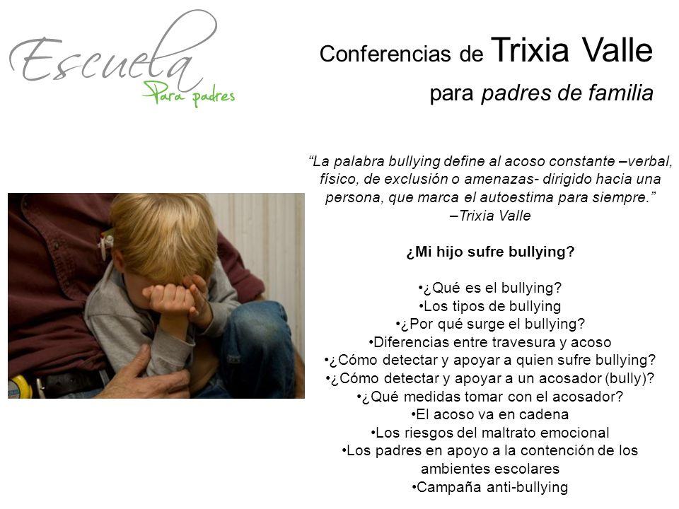 La palabra bullying define al acoso constante –verbal, físico, de exclusión o amenazas- dirigido hacia una persona, que marca el autoestima para siemp