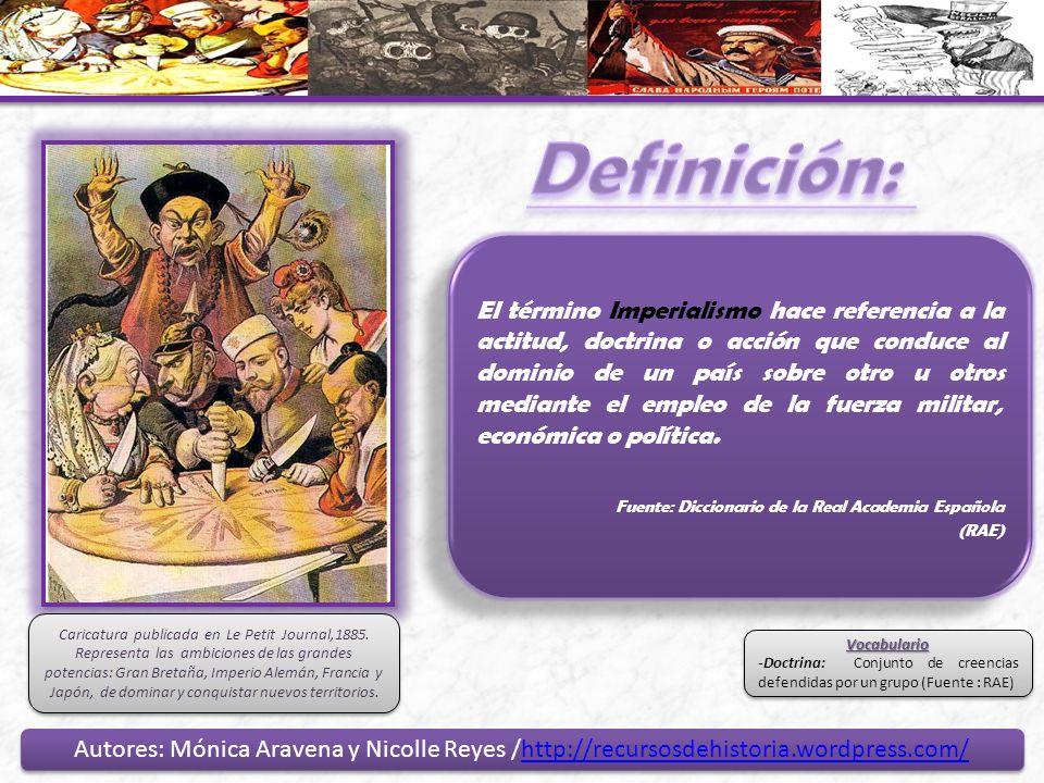 Autores: Mónica Aravena y Nicolle Reyes /http://recursosdehistoria.wordpress.com/http://recursosdehistoria.wordpress.com/ Autores: Mónica Aravena y Ni