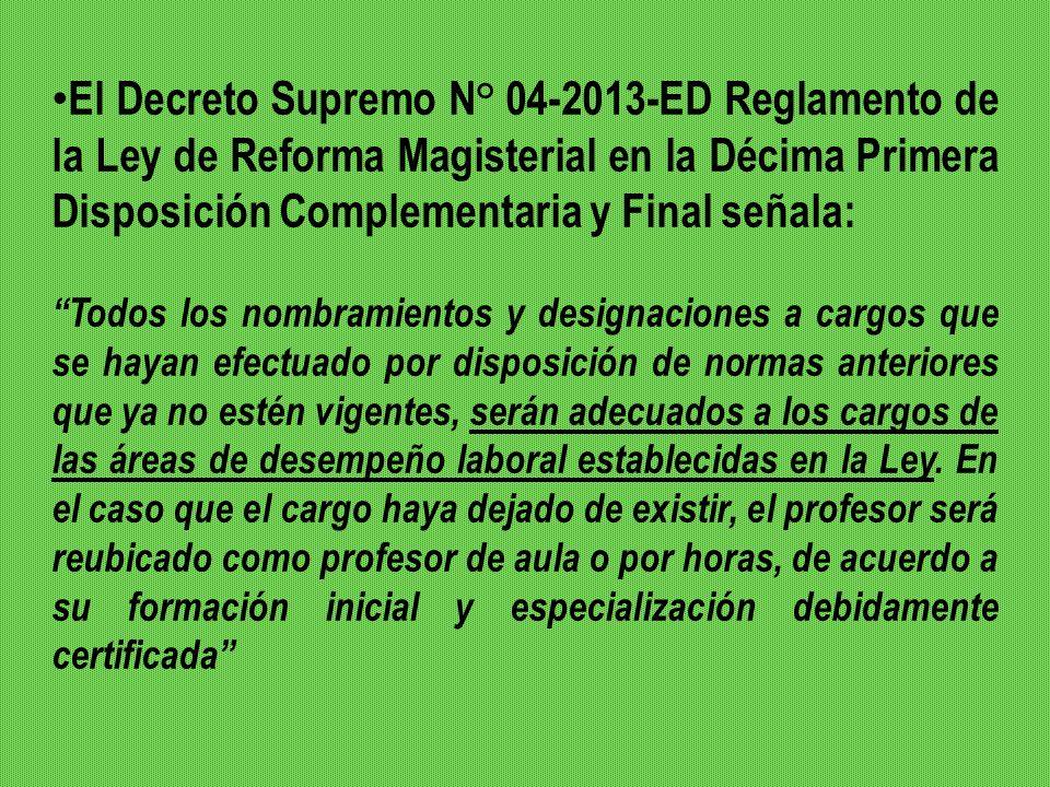 Las resoluciones ministeriales – N° 262 y N°460 – 2013 – ED - que promueven el impulso de concursos públicos en el 2013 para ACCEDER al cargo no han tenido en cuenta que la evaluación a las que se debe someter a los directivos, no es de concurso público para acceso al cargo, sino tal como lo establece la ley, CONCURSOS PÚBLICOS PARA EFECTOS DE SER RATIFICADOS EN SUS CARGOS EN ATENCIÓN AL DESEMPEÑO DE SU GESTIÓN,