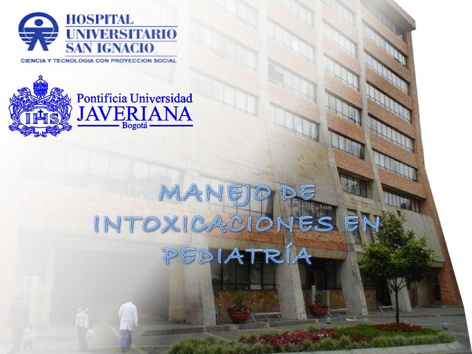 Epidemiología COLOMBIA : 2006- 2008 SIVIGILA INS.40.061 Intoxicaciones.