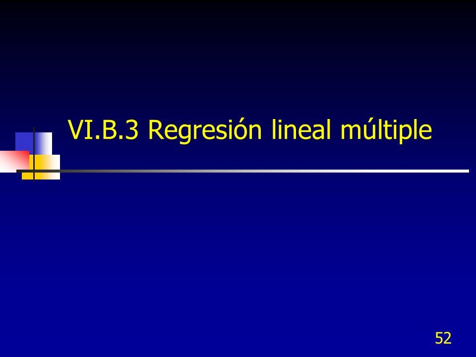 52 VI.B.3 Regresión lineal múltiple