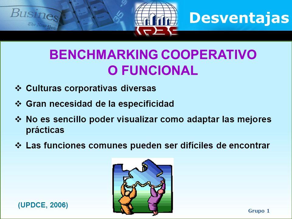 Culturas corporativas diversas Gran necesidad de la especificidad No es sencillo poder visualizar como adaptar las mejores prácticas Las funciones com