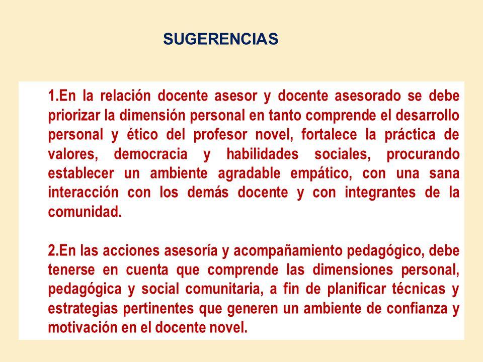 3. Las acciones de asesoría y acompañamiento pedagógico promueven en el docente novel una cultura de calidad y compromiso con la gestión pedagógica, m
