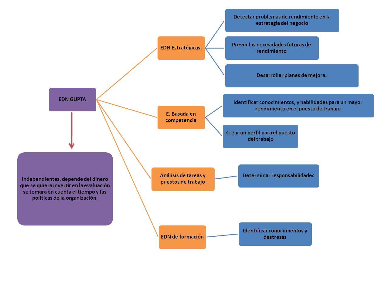 EDN GUPTAEDN Estratégicas. Detectar problemas de rendimiento en la estrategia del negocio Prever las necesidades futuras de rendimiento Desarrollar pl