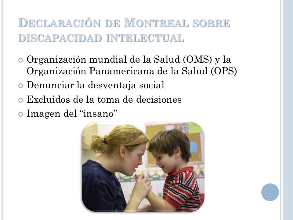 DECLARACIÓN DE SALAMANCA CONFERENCIA MUNDIAL SOBRE NECESIDADES EDUCATIVAS ESPECIALES: ACCESO Y CALIDAD UNESCO, 1994. Responsabilidad de los gobiernos.