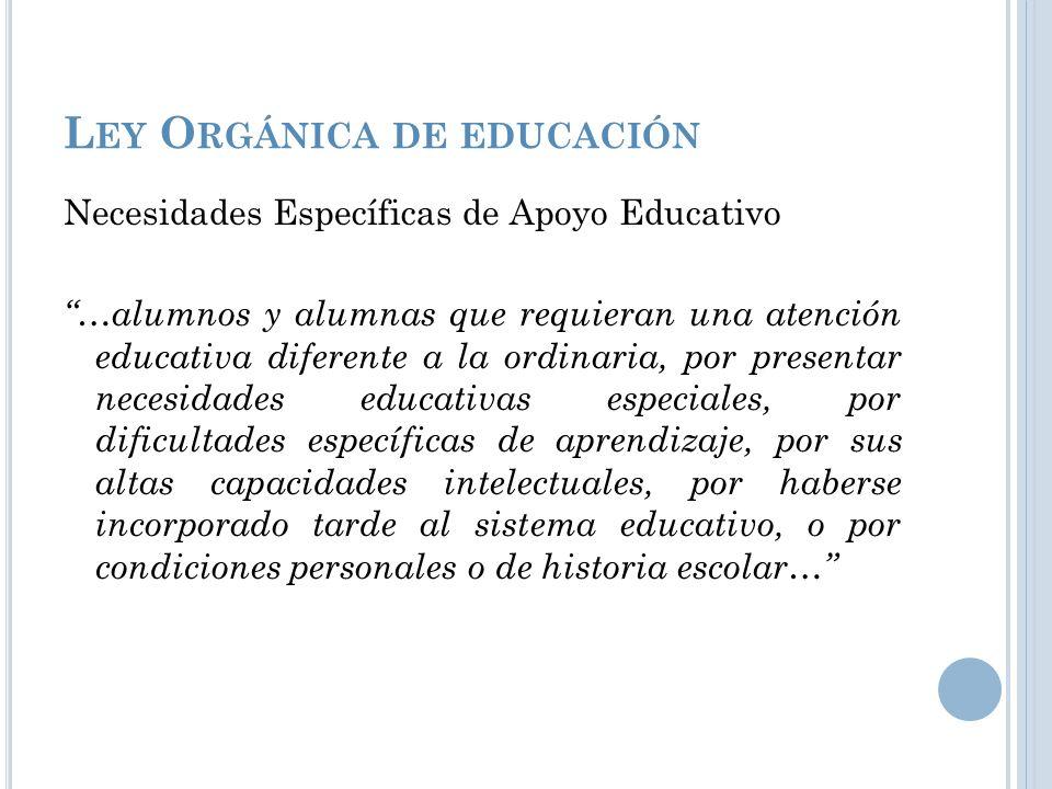 C ONCEPTUALIZACIONES Y DECLARACIONES DE LAS NEE M.Ed. Rocío Deliyore Vega