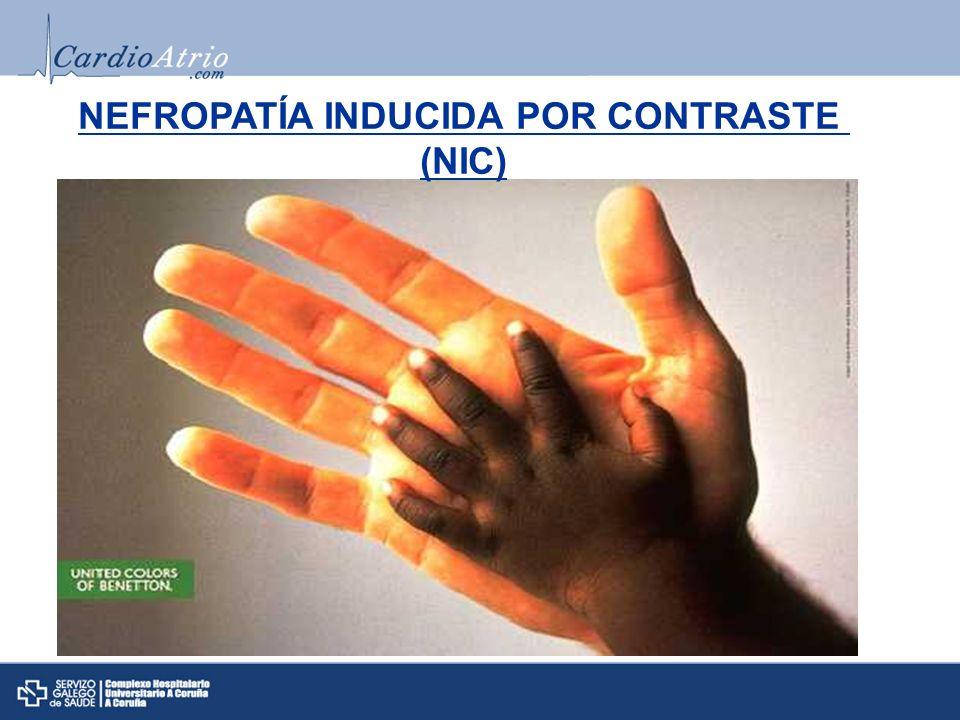 NEFROPATÍA INDUCIDA POR CONTRASTE (NIC)